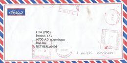 "Zimbabwe 2002 Bindura Meter Hasler ""Mailmaster"" HAS948 EMA Inflation Cover - Zimbabwe (1980-...)"