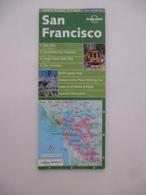 CALIFORNIE (USA) : SAN FRANCISCO Centre Ville  5 Cartes Avec Index Des Rues - 1980 - Mappe