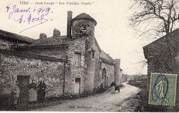 """VIRE  -  Jean Large  """" Les Vieilles Tours """" - France"""