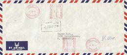 "Zambia 1979 Ndola Meter Roneo Neopost ""105"" N703 EMA Cover - Zambia (1965-...)"
