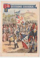 Cartolina / Postcard / Viaggiata / Sent / Militare / Military / Reggimenti / Divisione Cosseria - Regiments