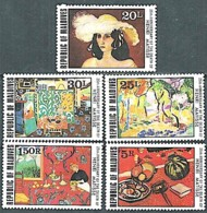 MALDIVES Tableaux, IMPRESSIONNISTES, Painting Yvert N° 767/71** MNH Matisse - Impressionisme