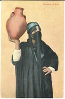 POSTAL      PORTEUSE D'EAU  ( PORTADORA DE AGUA ) - Otras Colecciones
