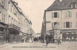 Lons Le Saunier Rue Lafayette Café Pub Maggi - Lons Le Saunier