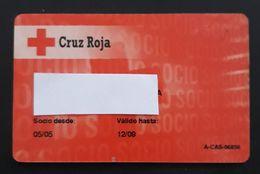 TARJETA CRUZ ROJA ESPAÑOLA - RED CROSS. - Other Collections