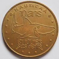 NAUSICAA 10 ANS Et Toutes Ses Dents 2001 Monnaie De Paris 62 Pas De Calais - Monnaie De Paris