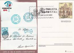 España Entero Postal Nº 136 USADO - Enteros Postales