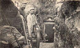 GUERRE 1914 1918 ENTRÉE D'UN GOURBI TRANCHÉE EN ARGONNE - France
