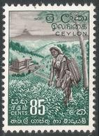 Ceylon. 1958-62 Definitives. Redrawn Inscriptions, 85c MH. SG 461 - Sri Lanka (Ceylon) (1948-...)