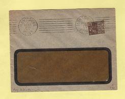 Krag - Montrouge - 7 Lignes Droites + Bloc Dateur 4 Lignes - 7 Dec 1931 - Postmark Collection (Covers)