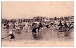 2395 - Malo Les Bains  ( 59 ) -Promenade à Ane Sur La Plage - C.A.R. N°175 - - Malo Les Bains