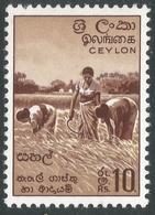 Ceylon. 1958-62 Definitives. Redrawn Inscriptions, 10r MH. SG 465 - Sri Lanka (Ceylon) (1948-...)