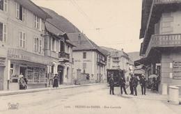 CPA - 2309 - BRIDES-les-BAINS : Rue Centrale - Brides Les Bains