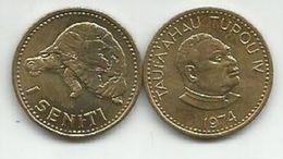 Tonga 1 Seniti 1974. High Grade - Tonga