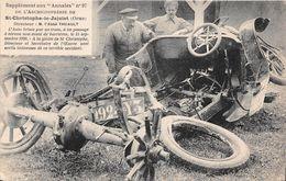 ST CHRISTOPHE LE JAJOLET - Auto Brisée Par Un Train, à Un Passage à Niveau Non Muni De Barrière, 15 Septembre 1920 - Francia