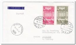 Syrië 1975, Flight Letter With Postmark Damas And Undof Ausbatt - Syrië
