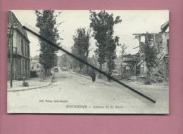 CPA Souple - Montdidier - Avenue De La Gare - Montdidier