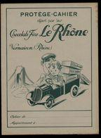Protège Cahiers - Chocolats Fins LE RHONE, Vernaison - Protège-cahiers