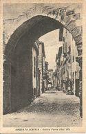 Arquata Scrivia (Alessandria) Antica Porta Del Borgo Medioevale - Alessandria