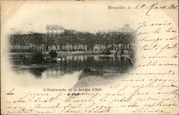 34 - MONTPELLIER - Jardin - Carte Nuage - Montpellier