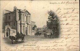 34 - MONTPELLIER - Hopital Général - Carte Nuage - Montpellier