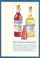 PUBBLICITARIA CAMPARI NON VG. - Advertising