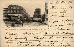 34 - MONTPELLIER - Rue Maguelonne - Carte Nuage - Montpellier