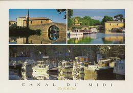 CPM Canal Du Midi, (multivues) - France