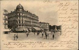 34 - MONTPELLIER - Carte Nuage - Montpellier