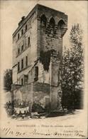 34 - MONTPELLIER - Carte Nuage - Vestiges Murailles - Montpellier