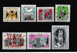 A10431)Belgien 1084 - 1090**, Mutter Gottes - Belgien