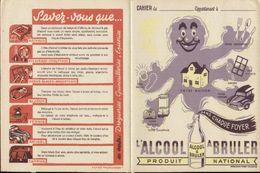 Protège Cahiers - Lot De 2 - ALCOOL A BRULER, Produit National - Protège-cahiers