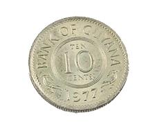 10 Cents - Guyana - 1977 - TTB - Guyana