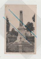 Carte Postale - OGEVILLER - Le Monument Aux Morts - France