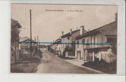 CPA - MONCEL SUR SEILLE - La Route Nationale - France