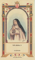 Ordine Mercedario : Santi Beati E Venerabili : Venerabile Rosa, Vergine - Images Religieuses