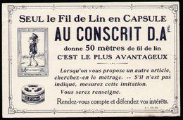 Buvard - AU CONSCRIT D.A. - Fil De Lin En Capsule - Textile & Clothing