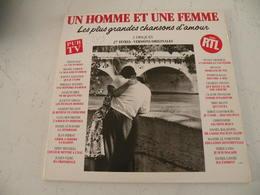 Les Grandes Chansons D'amour, Versions Originales, Double Album (Titres Sur Photos) - Vinyle 33 T - Vinyl-Schallplatten