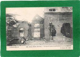80  MAILLY MAILLET La Sucrerie Aprés Le Bombardement Par Les Allemands Cpa 1915  état Impeccable - Otros Municipios