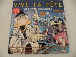 Vide La Fête, Double Album (Titres Sur Photos) - Vinyle 33 T - Hit-Compilations