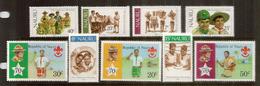 Le Scoutisme à L'île NAURU.  2 Séries Complètes Neuves ** - Nauru
