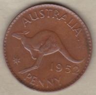 Australie 1 Penny 1952 Melbourne, George VI. KM# 43 - Monnaie Pré-décimale (1910-1965)