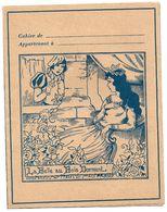 Protège Cahiers - Maison TRONEL Elie à St MALO - La BELLE Au BOIS DORMANT - Book Covers