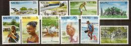 émission Definitive Année 1984.  14 Timbres Neufs **  Côte 25,00 Euro - Nauru