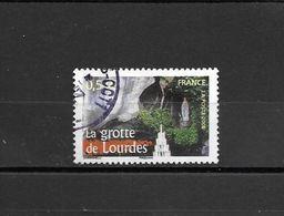 """3950  OBL  Y & T La Grotte De Lourdes """"Portraits De Régions""""   *FRANCE* 15B/02 - Used Stamps"""