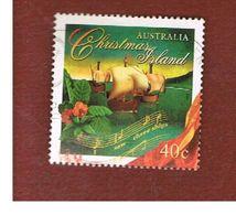 ISOLA CHRISTMAS (CHRISTMAS ISLAND) - SG 430 - 1996 CHRISTMAS: I SAW THREE SHIPS, CAROL - USED° - Christmas Island