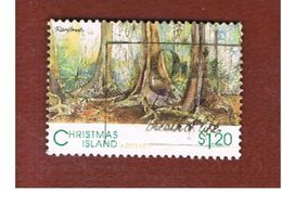 ISOLA CHRISTMAS (CHRISTMAS ISLAND) - SG 381 - 1993 RAIN FOREST - USED° - Christmas Island