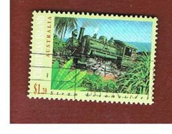 ISOLA CHRISTMAS (CHRISTMAS ISLAND) - SG 391 - 1994 STEAM LOCOMOTIVE N. 1 - USED° - Christmas Island