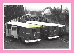 PHOTO  POLICE NATIONALE COMPAGNIE REPLUBICAINE DE SECURITE N°2 Bus De Crs +crs - Métiers