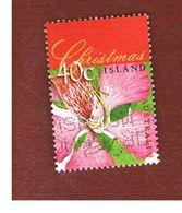 ISOLA CHRISTMAS (CHRISTMAS ISLAND) - SG 463 - 1998  CHRISTMAS: ORCHID TREE - USED° - Christmas Island